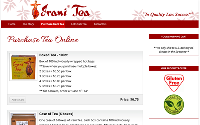 Irani Tea